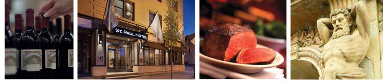 Local dining & attractions near St. Paul Hotel